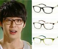 Fashion men women square glasses frames vintage eyewear clear lens reading glasses drop shipping 0116