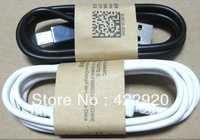 V8 Micro USB data cable for samsung galaxy S4 Charger cable  white black i9300 s3, i9100 i9200 android