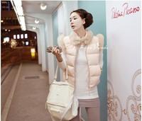 Женский жилет 2013 summer fashion clothing for women Vest women's fashion down wadded jacket vest short design vest