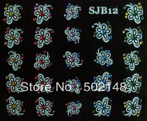 water transfer nail tattoo sticker printing(China (Mainland))