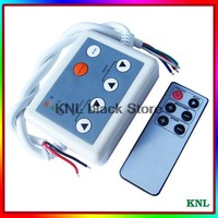 RGB 6key led infrared remote controller,low voltage DC12-24V 4A*3channel led strip 5050/3528 IR remote controller, free shipping