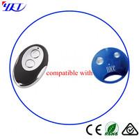 garage door remote control rolling code compatible with NICE smilo  YET029