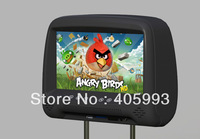 HD car Android 4.0 touch screen headrest monitor 9 inch TFT LCD digital 800*480 resolution screen