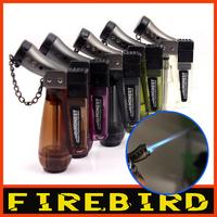 FIREBIRD 2013 Various Colors New Novelty Colorful Cigarette Cigar Gas Butane Jet Flame Windproof Lighter