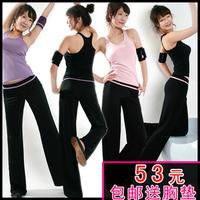 Dance clothin yoga clothes set hot yoga tank sexy wild clothes sports wear yoga clothing whole sale cheap yoga wear women 176
