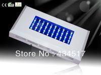 60W Power  AC 100~240V  Led Aquarium Light With Emitting Color White 12000K:Blue 460NM