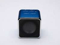 Hot sale 5pcs mini Speaker JH-MD07  digital FM Radio MP3 Player USB Disk Micro  SDTF Card   Free shipping