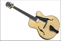 high quality fully handmade and solid wood   jazz guitar