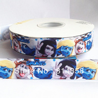 "Free shipping 7/8""  cartoon grosgrain ribbon, 50yards fabric tape"