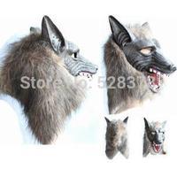 Free shipping 2014  New Terror Halloween Easter Wolf  Mask Terrorist Devil Dance Mask Full Face Masquerade Mask  t435