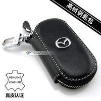 Free shipping for Mazda CX-5 specia key case Mazda  key wallet genuine leather  cx-7  car remote control key cover