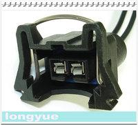 longyue  20 pcs  Fuel Injector OBD1 Connector Plug EV1 Pigtail Wiring Clip TPI LT1 LS1 LS6 30cm wire