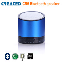 CREATED CN6 Free shipping mini pc speakers portable for kids with TF card slot