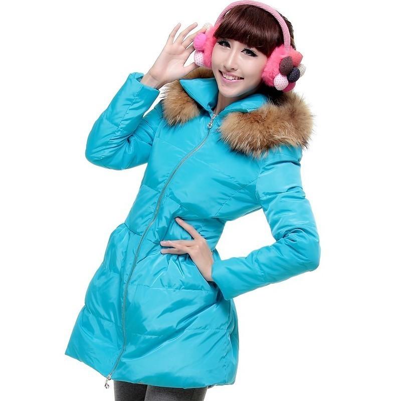 Женские пуховики, Куртки  D1090