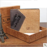 Free shipping hot sale man leather wallet,100% genuine leather purse,1pce wholesale, quality guarantee , TB-41