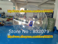 free shipping 1.0mm PVC  i walk 2.5m inflatable summer popular inflatable human ball inflatable water transparent inflatable