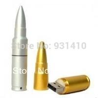 FULL capacity 64GB Metal bullte USB flash pen drives  64GB (1 pc )  metal USB Memory Stick Flash Pen Drive 8GB 16GB 32GB 64GB
