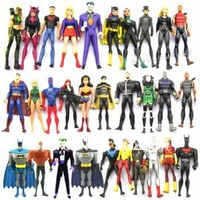 30 DC Universe Jul ARTEMIS Super Man Girl Bat man Robin Flash Joker Figure M68