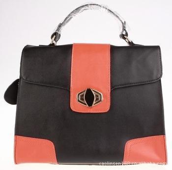 Wholesale - Manufacturers of high-end fashion exquisite special approval hit color leather handbag shoulder bag 2013 Summer Hot