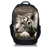 "Tiger  Print  Laptop Backpack School Book Backpack Travel Bag Up To 15.6"" Laptop"