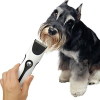 New Electric Rechargeable Household Pet Dog Cat Hair Trimmer Shaver Razor Grooming Clipper free shipping