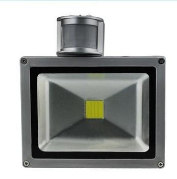 Waterproof Outdoor lighting PIR LED Flood Light 10w/20w/30W/50W/70W/100W Warn white/white/red/blue/green/yellow Free Shipping
