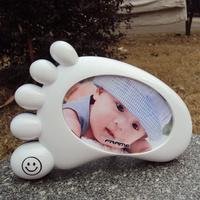 Fashion Photo Frame for baby kids creative frame feet shape Kids Photo Frame  free shipping