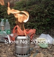cookware outdoor camping stove + aluminum outdoor pot.free shipping
