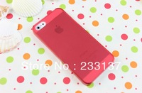 High Quality TPU+PC Transparent edge Case Cover For iphone 5,with free Screen Protector for i phone 5