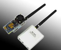 FPV 5.8G 500mW AV A/V Transmitting/ 8 Channels Receiving System RC Air Plane Helicopter Hobby TS352+RC305 TX RX Free Shippi toys