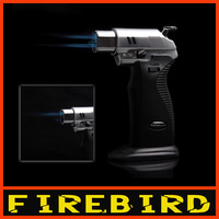 FIREBIRD AOMAI Dual flame Brazing Soldering Adjustable Flame Butane Gas Jet Cigarette Welding Torch Lighter