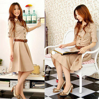 Free shipping!2013 Summer Korea OL Slim dress lady dress