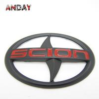 Free shipping,10pcs/lot SCION BLACK Emblem PRADO RAV4 FJ150 Stickers Highlander TOYOTA Avensis Badge Emblems