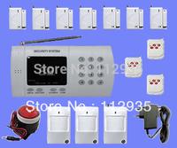 99 defend Zone Voice Home Security Alarm System Wireless PSTN Burglar with 7 door sensors
