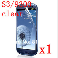 1pcs Clear LCD Screen Protector For Samsung Galaxy S3 SIII i9300 Screen Protective Film,Hight Quanlity,Free Shipping