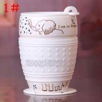 Anti-skid ceramic mug cup insulated cup with lid cute animal couple large cask beer mug tea cup coffee cup tableware