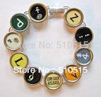 Fashion Typewriter Punctuation Key Bracelet