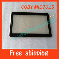 Free shipping Original and New 100% lcd touch/glass,touch screen touch panel MP4/MP5,COBY MID7015,Capacitive screen