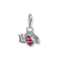 free shipping hot selling hot charm 2013 tms silver factory price ts2247 The British royal family baby pendant