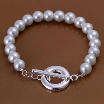 Wholesale !High qaulity!Free shipping;Fashion Jewelry;Costume nice bracelet.925 silver nice pearl bracelet,H230-2