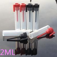 2ml plastic perfume sample bottle, test tube bottle,aliquot vials