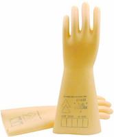 Deltaplus rubber gloves safety gloves 5kv insulating gloves 207001