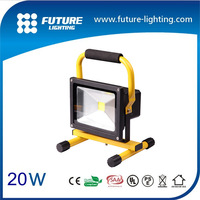 outdoor working Rechargeable battery portable  led floodlight