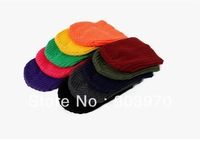 2013  New Arrivals 100pcs /lot man  women winter  knit  Skullies & Beanies hat / fluorescence hip-hop hats