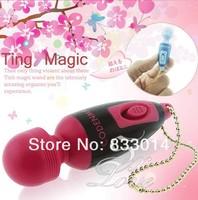 Mini AV Vibrator Magic Wand Massager Multi Function AV Wands Waterproof Vibrating Massager Female Adult Sex Toy 200pcs/lot
