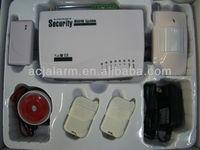 2013 high quality GSM wireless home burglar alarm system