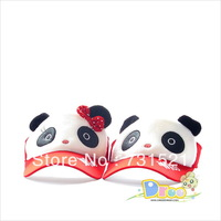 Han edition sunbonnet beach hat female cartoon lovers panda sun hat sunscreen cap