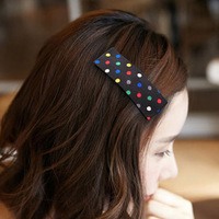 All-match polka dot bb clip hair accessory hair accessory