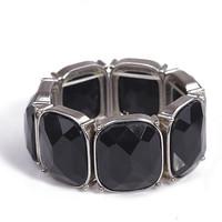 2014 seconds kill hot sale [min 15usd]_ women's the  gemstone luxury large particles bracelet vintage jewelry silver finishing