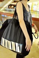 2013 high quality fashion vintage bag brief fashion personality big bag paillette women's handbag shoulder bag messenger bag